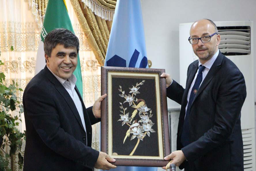 دانشگاه صنعتی بابل با دو دانشگاه ایتالیا قرارداد همکاری امضاء کرد