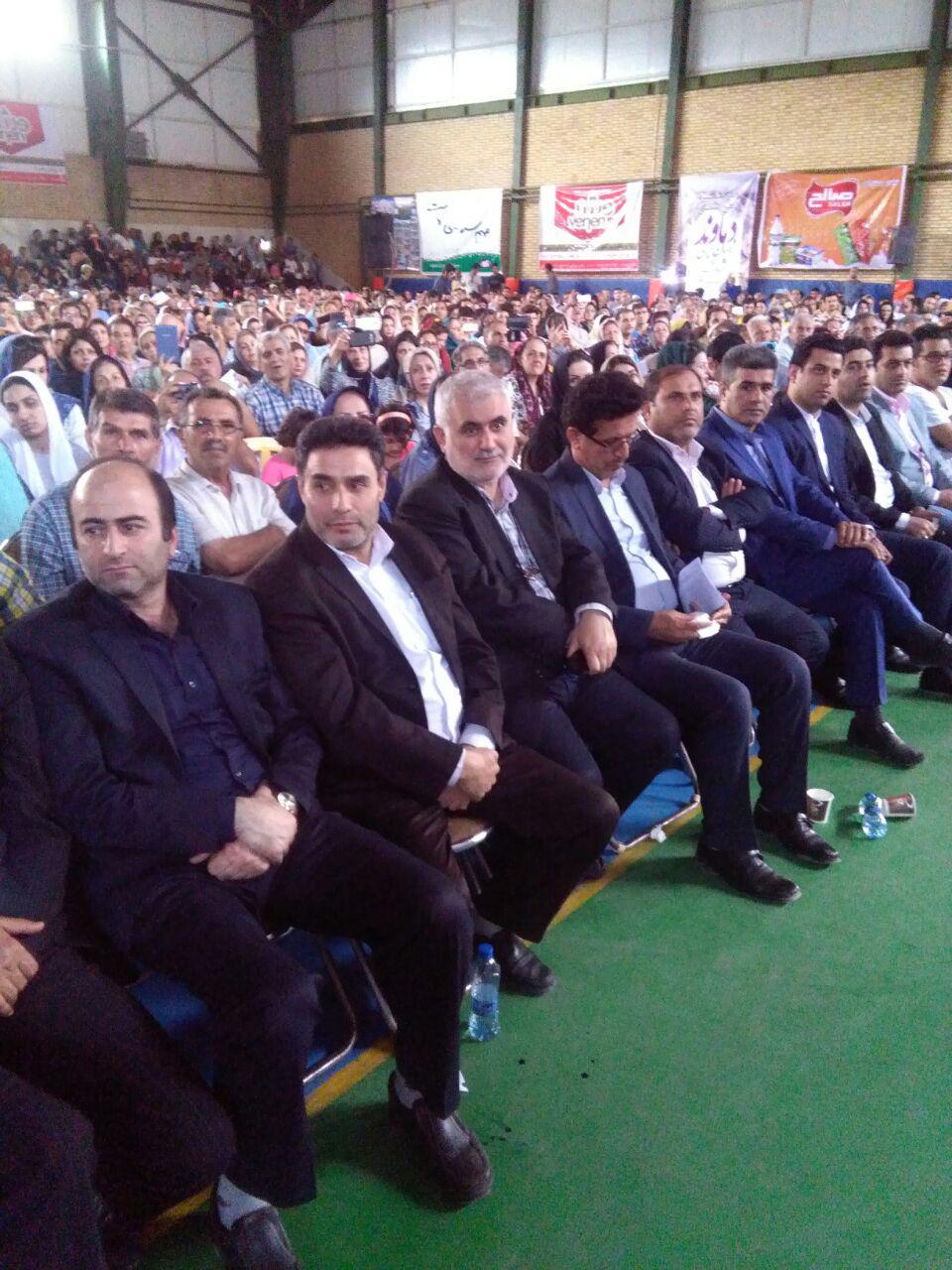 جشن بزرگ تیرگان در پای بام ایران برگزار شد