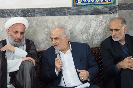 بررسی مشکلات منطقه گنج افروز بابل با حضور استاندار مازندران