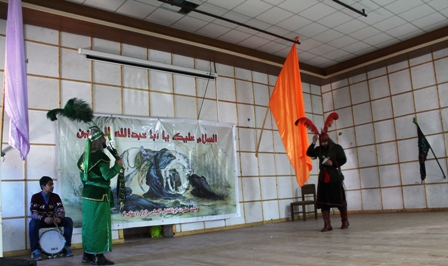 تجسم وقایع عاشورا در تعزیه سوادکوه