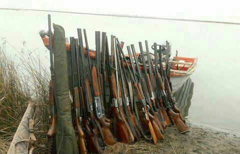 عملیات گسترده یگان حفاظت محیط زیست درمناطق تالابی استان