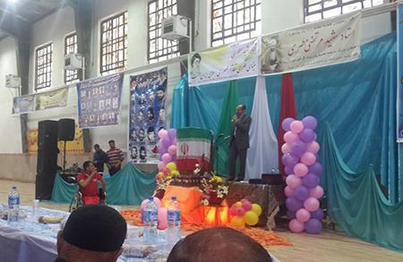 برگزاری آیین تجلیل از معلمان جویباری