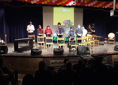 برگزاری جشن اردیبهشت تئاتر بابلسر