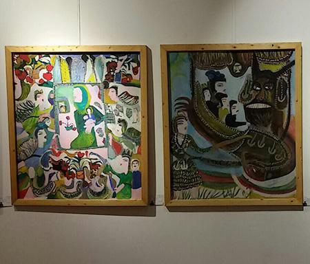 شرکت 20 اثر از بانو مکرمه قنبری در نمایشگاه هنرمندان خودآموخته موزه ملی ایران